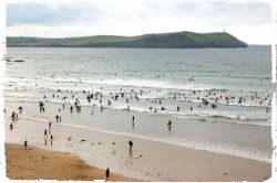 family friendly beaches in Cornwall