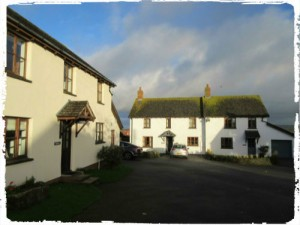 some of the self-catering cottages at Court Farm Holidays, Cornwall