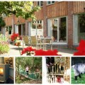 collage of images of Mazzard Farm
