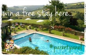 win a stay at Treworgey with our parentpanel