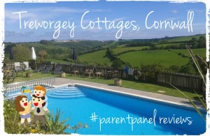 Treworgey Cottages Cornwall - our #parentpanel blogger reviews