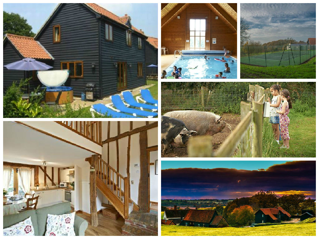 collage of images showing gladwins farm