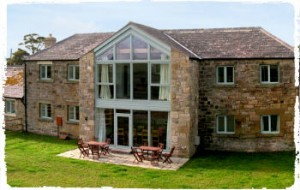 group accommodation at burnfoot holiday cottages
