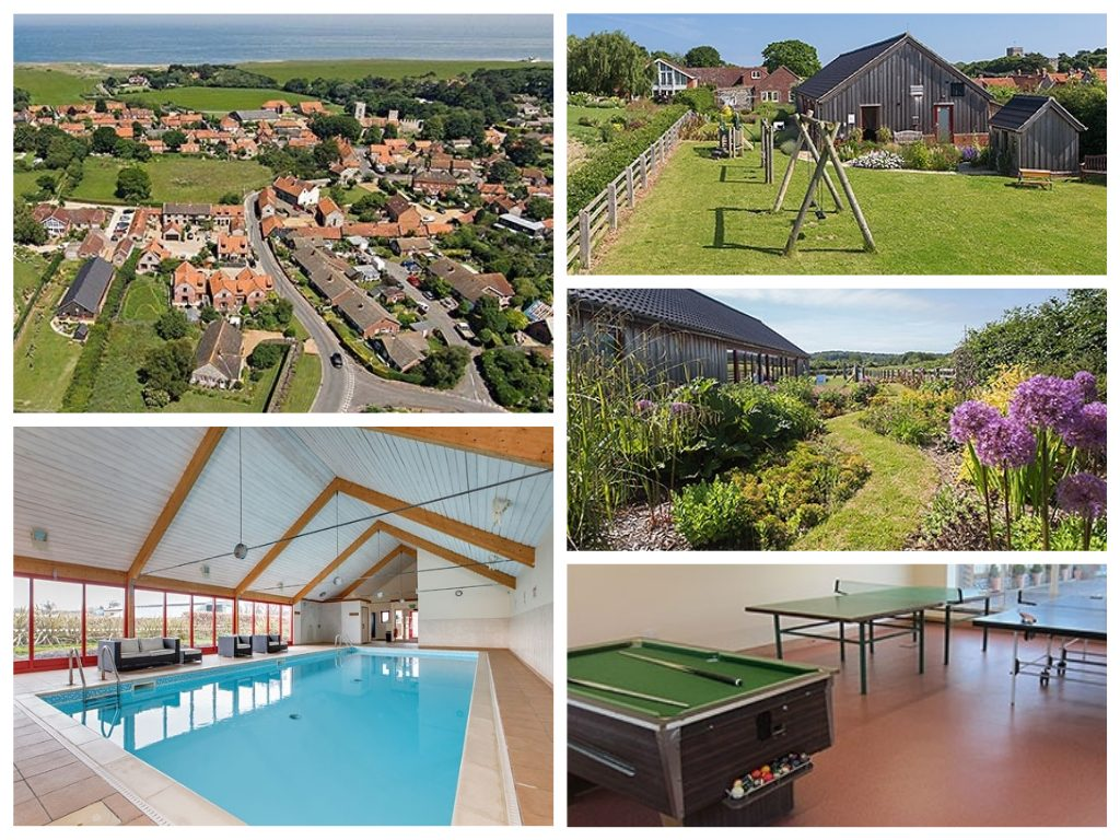 home farm weybourne collage