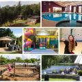 brynteg holiday park collage