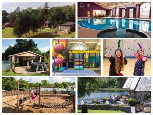 brynteg holiday park collage