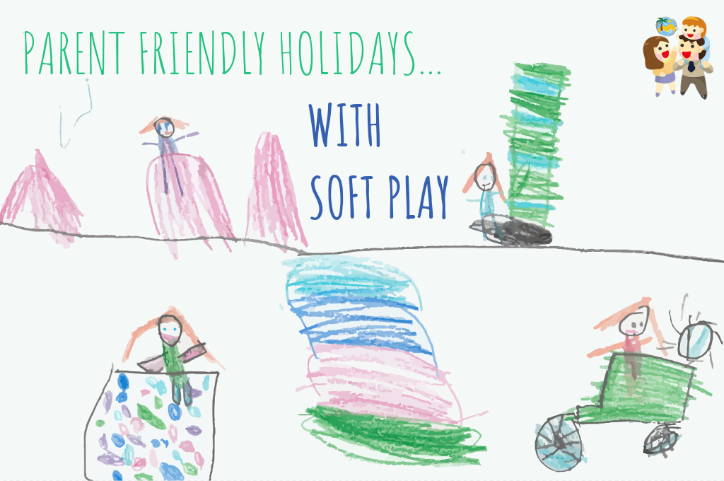 child and family friendly holidays with a soft play area