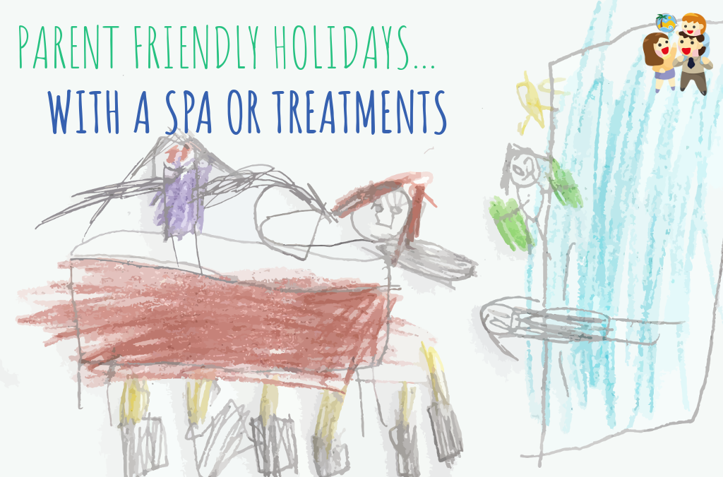 child and family friendly holidays with a spa or treatments