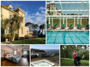 fowey hall hotel collage