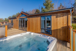 holidays with a hot tub
