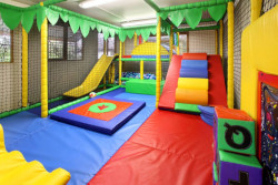 holidays with a soft play area