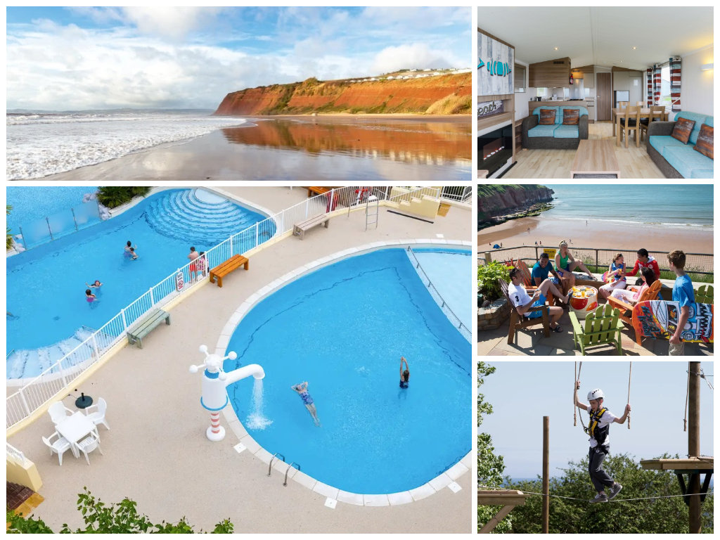 child and family friendly holidays at devon cliffs holiday park