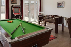 holidays with a games room