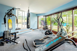 holidays with a gym